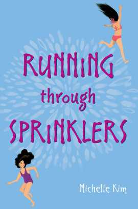 running through sprinklers hd